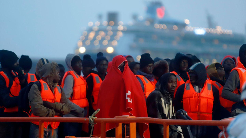 Stern Flüchtlinge