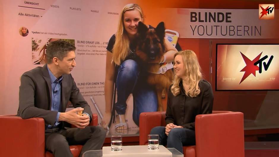 Live bei stern TV am 07.11.2018: Blinde Youtuberin Fabiana verrät uns ihre Alltagstricks