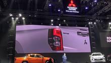 Weltpremiere Mitsubishi L 200 in Bangkok