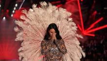 Adriana Lima bei ihrem Abschied