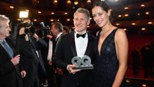 Bastian Schweinsteiger und Ana Ivanovic bei der GQ-Verleihung