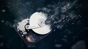 Die Festplatte der Zukunft hat 100 Terabyte.