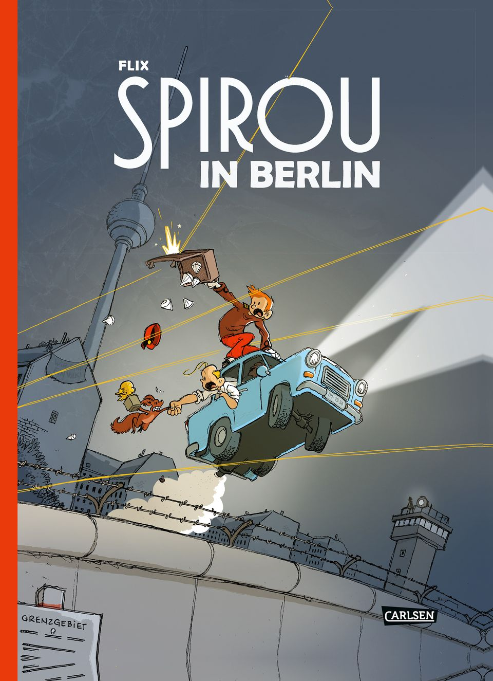"Cover ""Spirou in Berlin"""