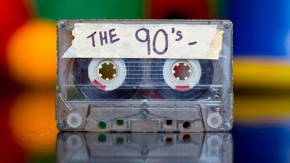 Eine 90er-Kassette