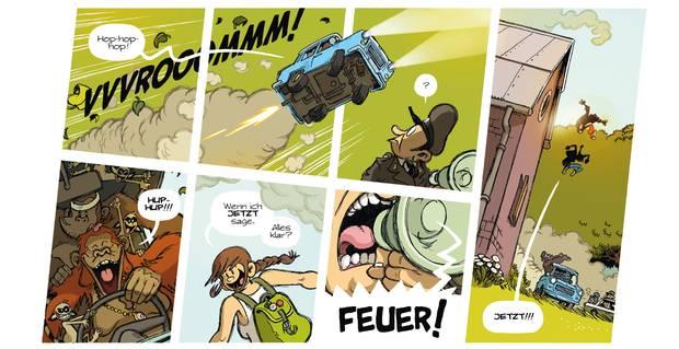 Ein Strip aus dem Comic