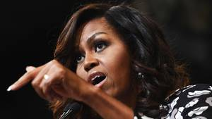 Die ehemalige First Lady der USA, Michelle Obama