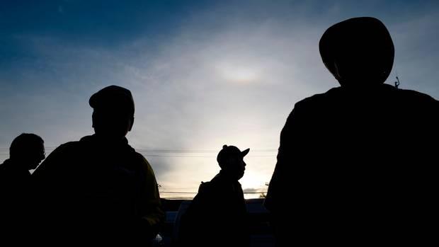 Migranten auf dem Weg in Richtung USA. Der UN-Migrationspakt soll Regeln für die die Wanderbewegungen weltweit aufstellen. Die Vereinigten Staatem machen jedoch nicht mit.