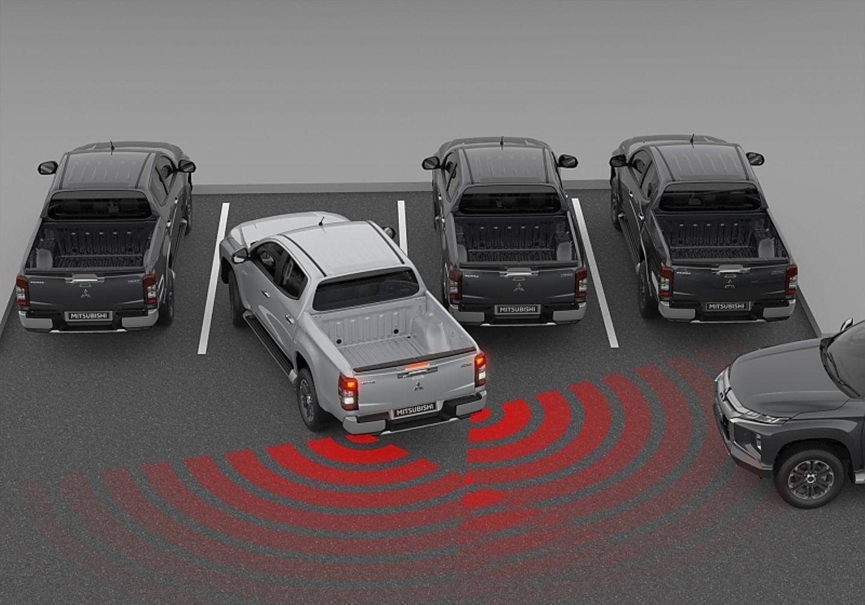 Mitsubishi L200 2019 - das Angebot an Fahrerassistenzsystemen ist dünn