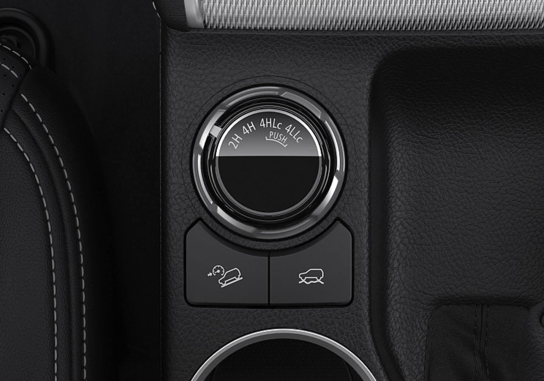 Mitsubishi L200 2019 - erstmals mit verschiedenen Fahrprorammen