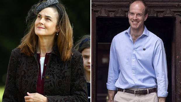 Die Privatsekretäre Samantha Cohen und Edward Lane Fox verlassen das britische Königshaus