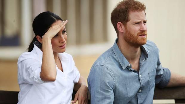 Meghan und Harry bei einem Termin in Dubbo während ihrer jüngsten Reise nach Australien
