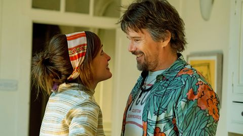 "Rose Byrne und Ethan Hawke in ""Juliet, Naked"""