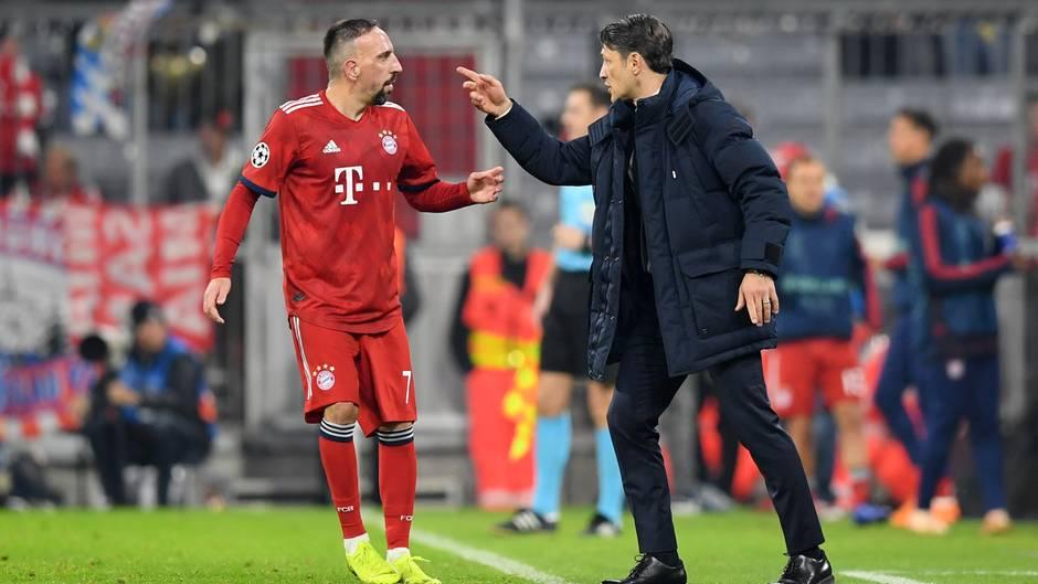 Franck Ribery und Niko Kovac
