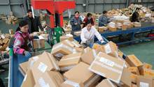 Rekordumsätze bei Alibaba am Singles Day in China