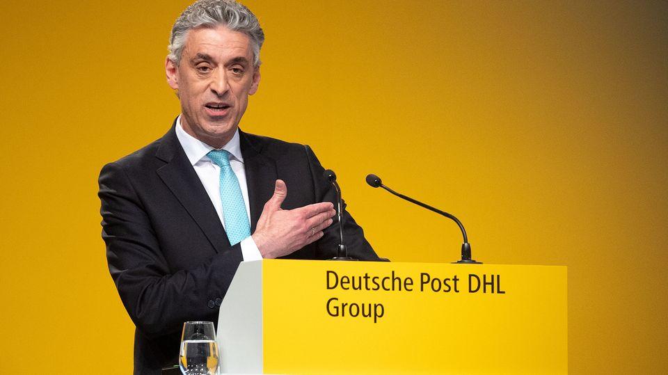 Deutsche-Post-Chef Frank Appel hofft auf baldige Portoerhöhung