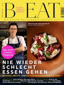 """Mehr Food-Themen in der aktuellen """"B-EAT""""."""