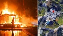 Waldbrände in Kalifornien zerstören Villen der Stars - und die sind mächtig sauer auf Trump