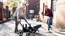 """Thomy (l.) und Bo von """"New Dads on the Blog"""""""