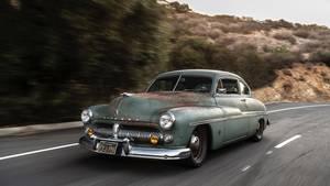 Von dieser Serie des Mercury wurden von 1949 bis 1951 fast eine Million Stück hergestellt.