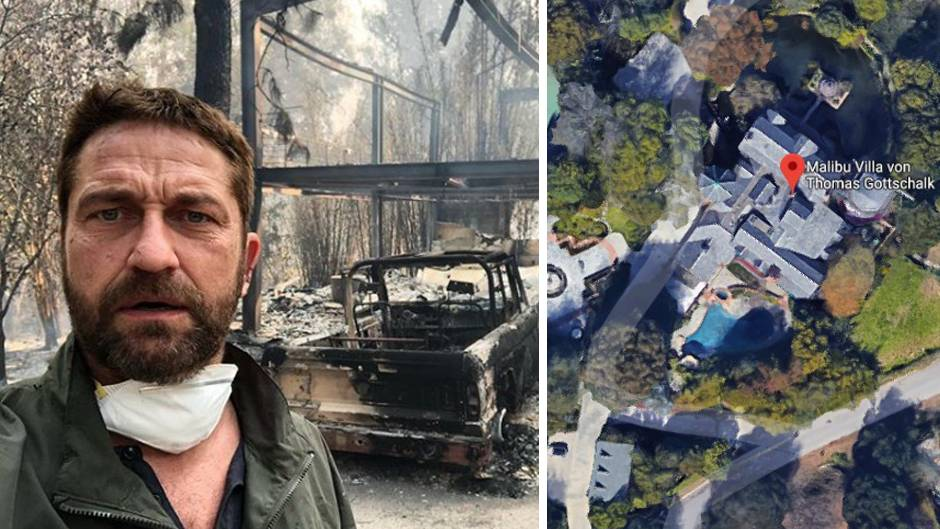 Waldbrände in Kalifornien: Flammen zerstören Villen vieler Stars – Hollywood ist derweil wütend auf Trump