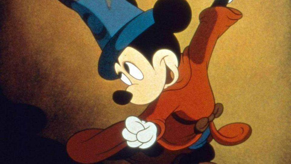 Micky Maus als Zauberlehrling