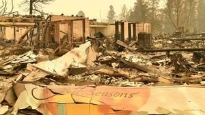 Waldbrand Kalifornien Paradise