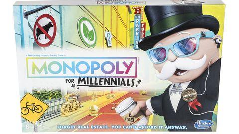 """Verpackung der US-Ausgabe """"Monopoly for Millennials"""""""