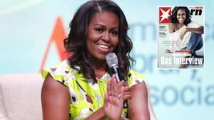 Michelle Obama spricht