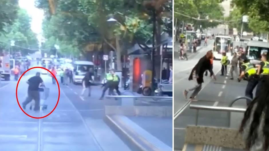 Messerattacke in Melbourne: Tausende spenden für Obdachlosen– der Held mit dem Einkaufswagen