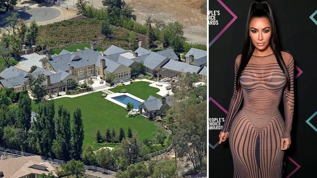 Villa gerettet, Kim Kardashian feiert wieder