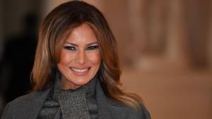 Melania Trump, Ehefrau von US-Präsident Donald Trump