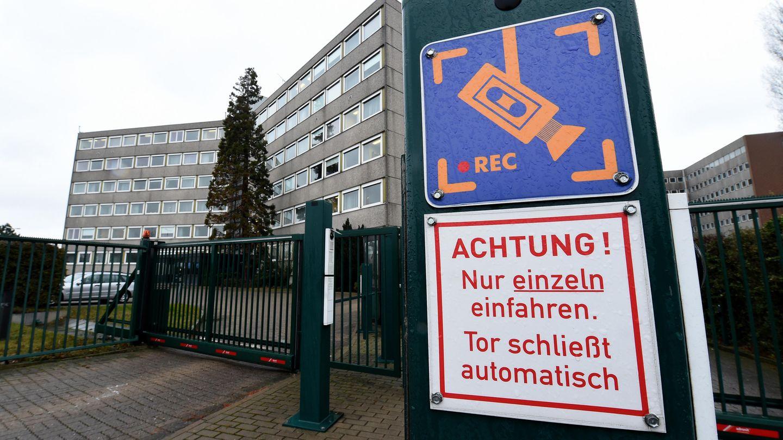 Niedersachsen, Hannover: Das Gebäude des Niedersächsischen Verfassungsschutzes