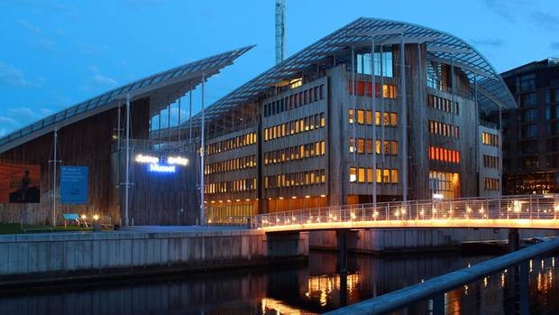 Das Astrup Fearnley Museum zog 2012 in einen Neubau am Fjord