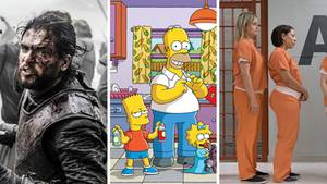 Simpsons, Game of Thrones, Orange is the New Black