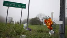 An dieser Straße im US-Bundesstaat Ohio liegt das Grundstück, auf dem damals sieben der acht Leichen gefunden wurden