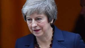 Das Büro von Premierministerin Theresa May hatte am Dienstagabend eine Einigung zwischen Großbritannien und der EU auf einen Brexit-Vertragsentwurf verkündet