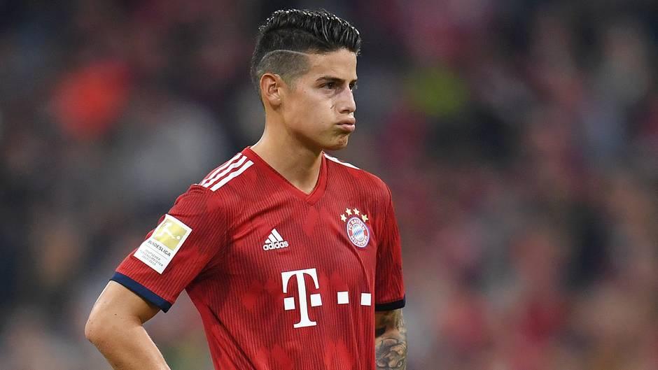 James Rodriguez fehlt dem FC Bayern München für längere Zeit