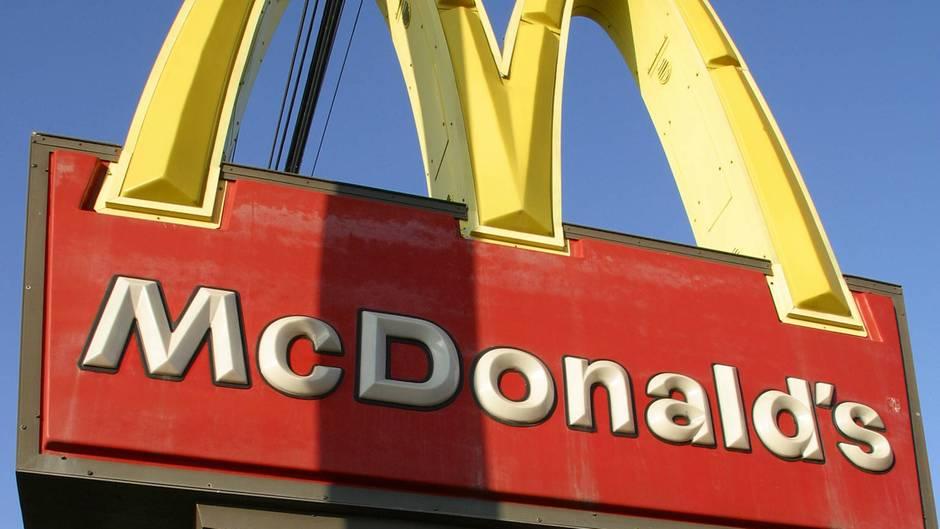 Eine McDonald's-Filiale (Symbolbild)