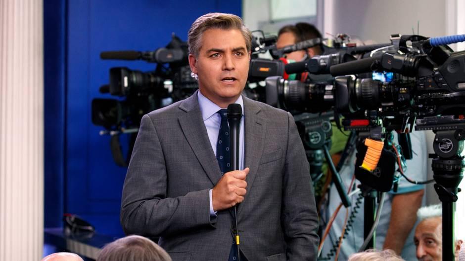 """Erhalte regelmäßig Drohungen"": CNN-Journalist muss Schutzmaßnahmen ergreifen"