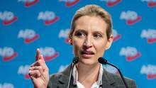 """Staatsanwalt will gegen Alice Weidel ermitteln - AfD-Vorsitzende gibt sich """"gelassen"""""""