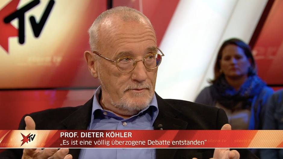 """Studiogespräch vom 14.11.2018: Prof. Dieter Köhler zur """"Diesel-Lüge"""" und Fahrverboten: """"Es ist eine völlig überzogene Debatte entstanden"""""""