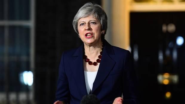 Theresa May hat sich im Ringen um ein Brexit-Abkommen die Unterstützung ihres Kabinetts gesichert