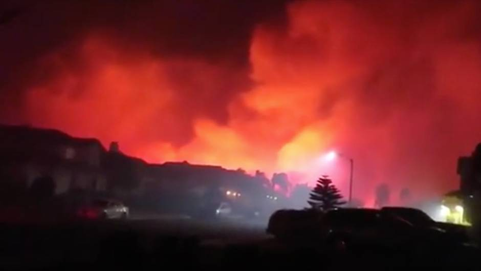Brandkatastrophe in Kalifornien: Amateurvideo zeigt furchteinflößende Feuerwand – weitere Todesopfer gefunden