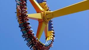 Spaß im Freizeitpark