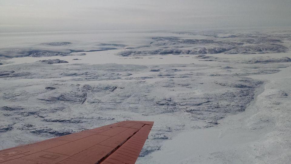 Meteoriten-Krater auf Grönland gefunden