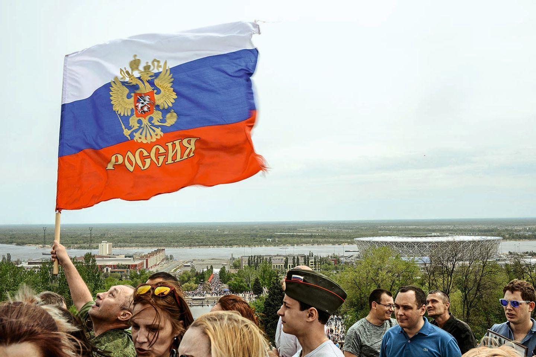 In Russland wird der Sieg über die deutsche Wehrmacht gefeiert