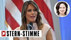 Melania Trump by Sylvia-Margret Steinitz