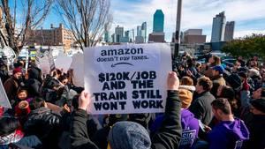 New Yorker wehren sich gegen neues Amazon-Hauptquartier