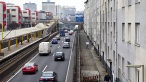 A40 in Essen