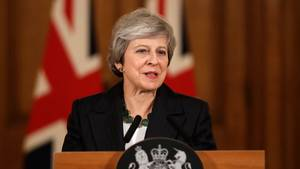 Brexit: Großbritanniens Premierministerin Theresa May